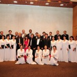 Beijing Conf Reception Photo with Chorus (2012)